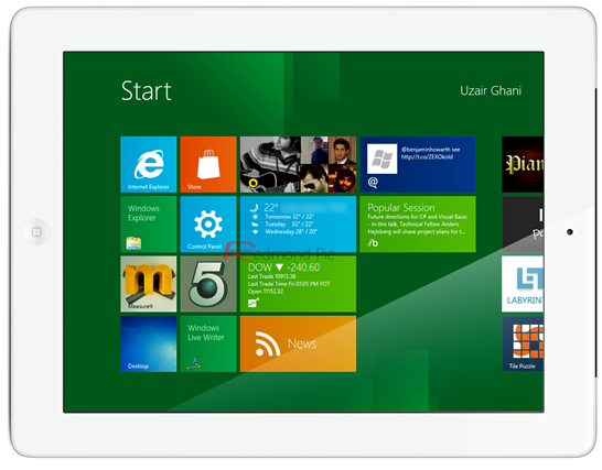 iPad 2 Windows 8