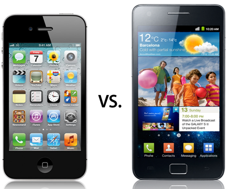 iPhone 4S vs Galaxy S 2