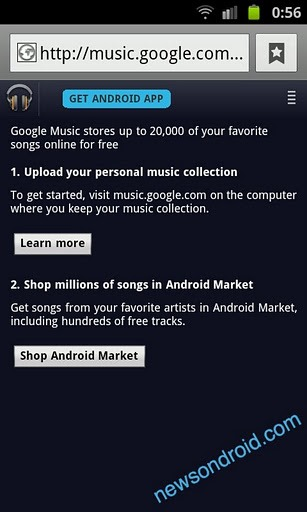google music store appears briefly in android market redmond pie. Black Bedroom Furniture Sets. Home Design Ideas