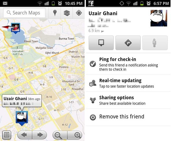 Battle Of The Social Location Tracking Services: Google