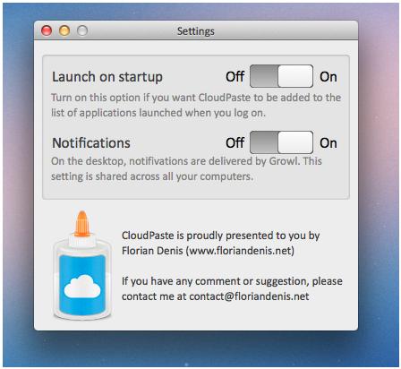 CloudPaste Mac