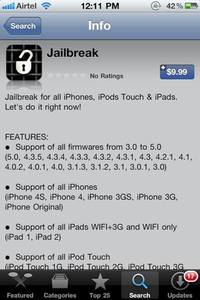 Jailbreak App
