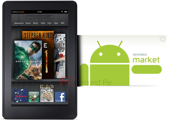 Kindle Fire Android Market