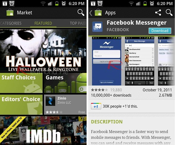 Android Market 3 3 11 APK Download Brings Cleaner UI, Auto
