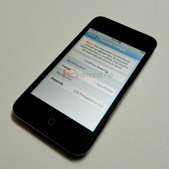 SemiTethere iOS 4.3.4 4