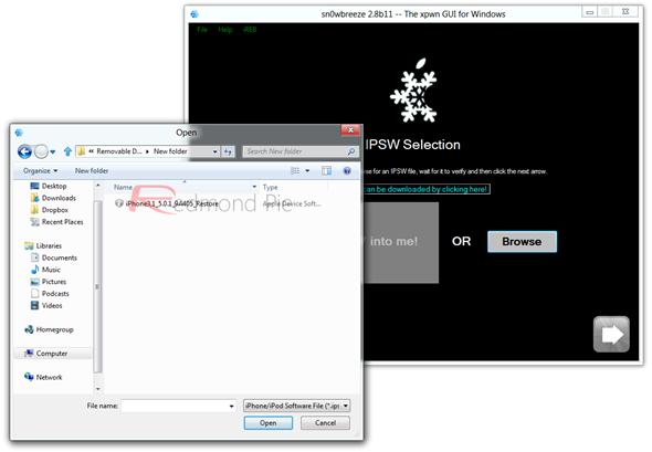 Snowbreeze 28b11 IPSW