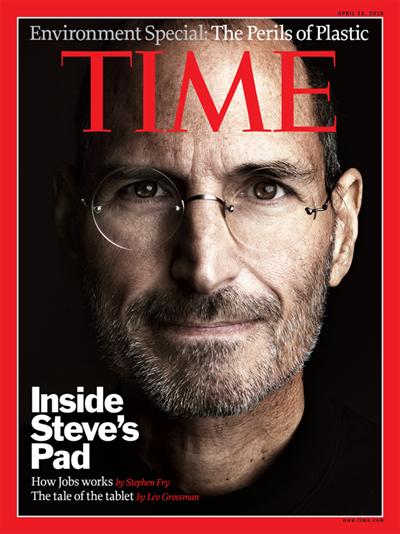 Steve Time Magazine