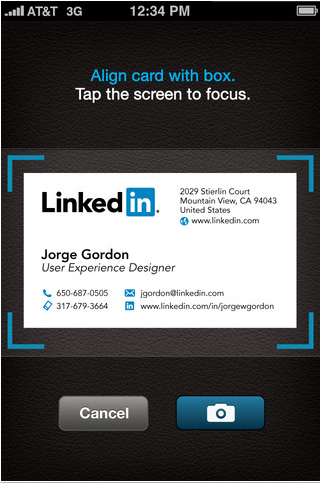 Convert business cards to linkedin contacts with cardmunch app for socially networking on the fly is one of the most useful ways of keeping up to date however some such as facebook for ios have frequently let down colourmoves