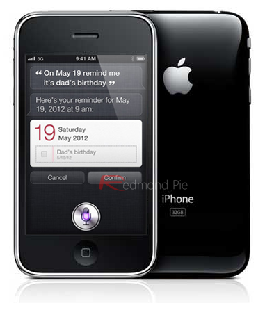 iPhone 3GS Siri copy