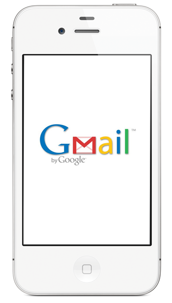 iPhone 4S Gmail