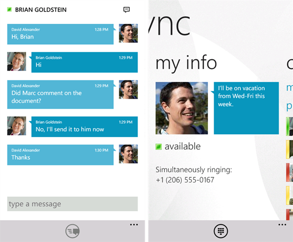 Lync 2010 Screenshots 2