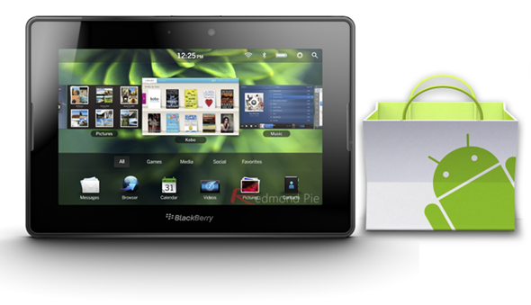PlayBook Android Market