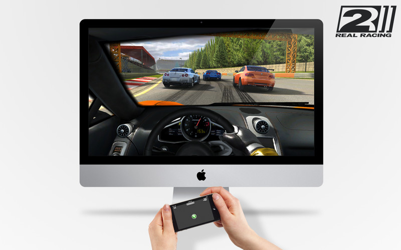 You Can Play Real Racing 2 For Mac Using Your iPhone Or iPad