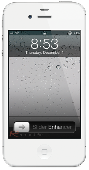 iphone wont slide to unlock customize your slide to unlock bar with slider enhancer 3012