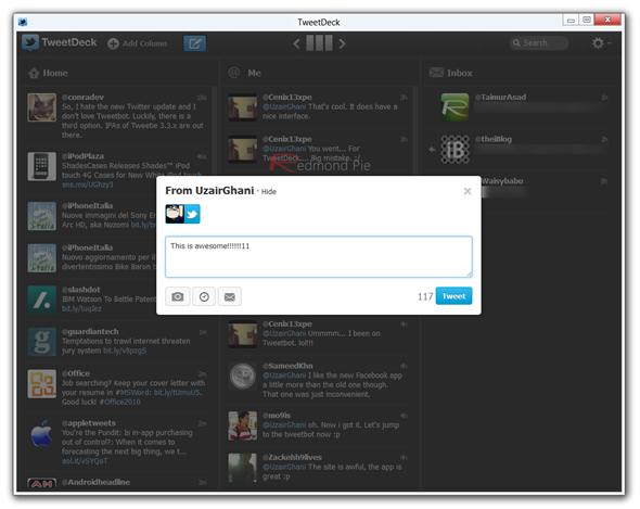 TweetDeck Windows
