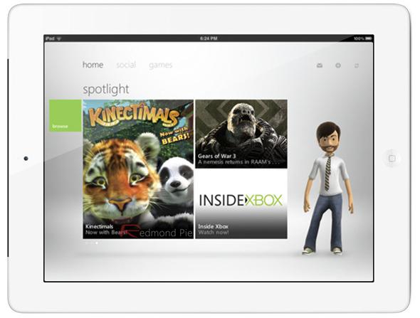 Xbox Live iPad 1