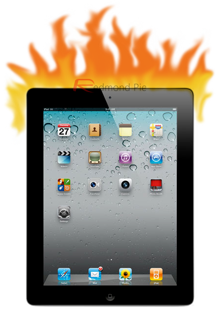 iPad 2 Lava