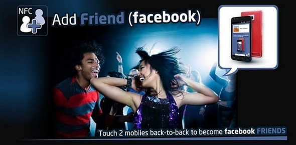 This App Lets You Add Friends On Facebook By Tapping Your