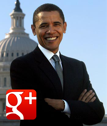 Barack Obama GooglePlus