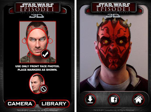 Darth Maul Me Screens