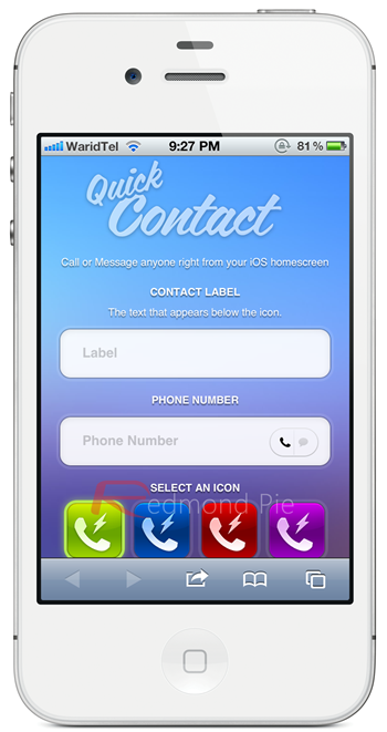 QuickContact Splash