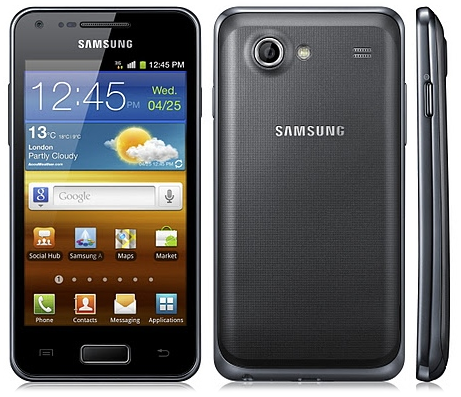 Samsung galaxy s advance pose