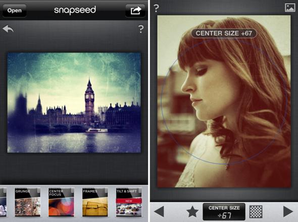 Snapseed iPhone