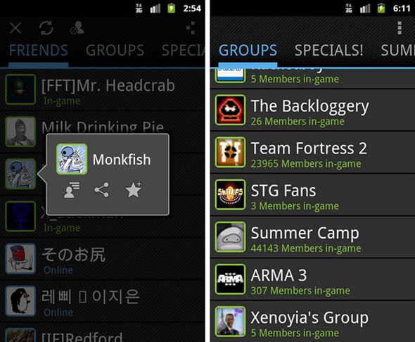 Steam Android 2