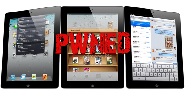 iPad 2 iOS 501 Pwned