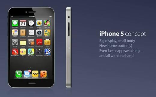 iPhone 5 Concept Navigation