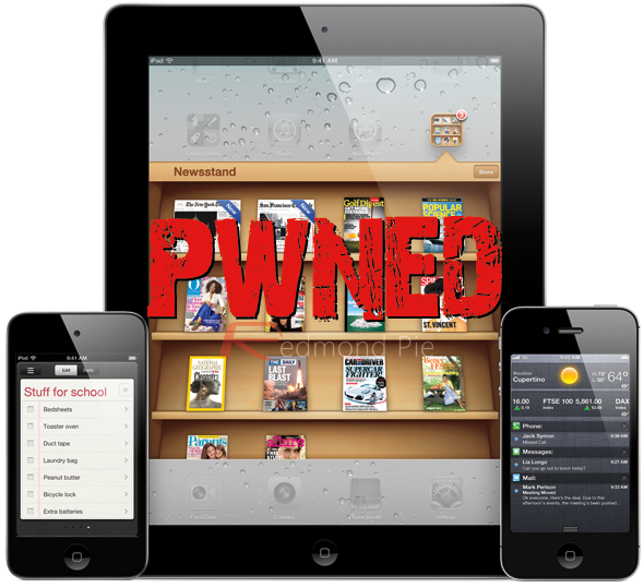 iPhone iPad A5 Pwned