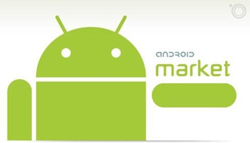 Android Market splash