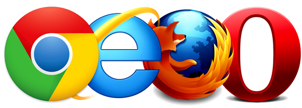 Chrome IE FF Opera
