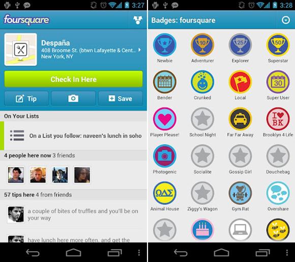 Foursquare Droid 2