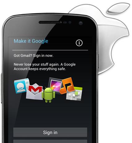 Galaxy Nexus Apple Lawsuit