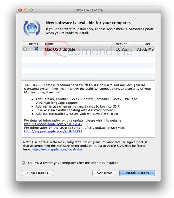 OS X 1073