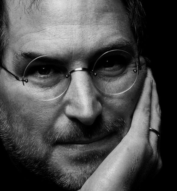 Steve Jobs BW