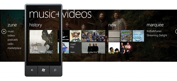 Zune Windows Phone