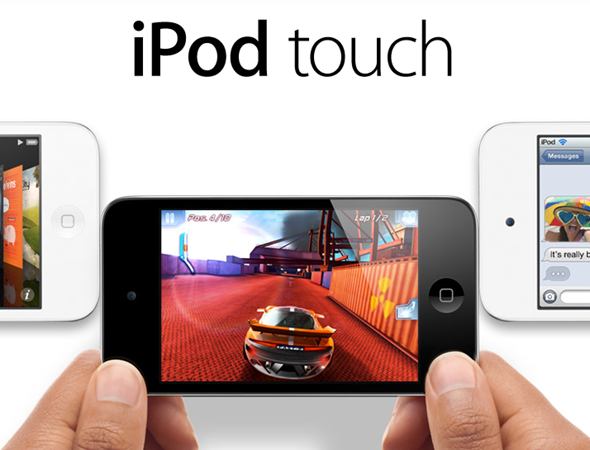 iPod touch splash