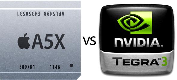 A5X vs Tegra 3