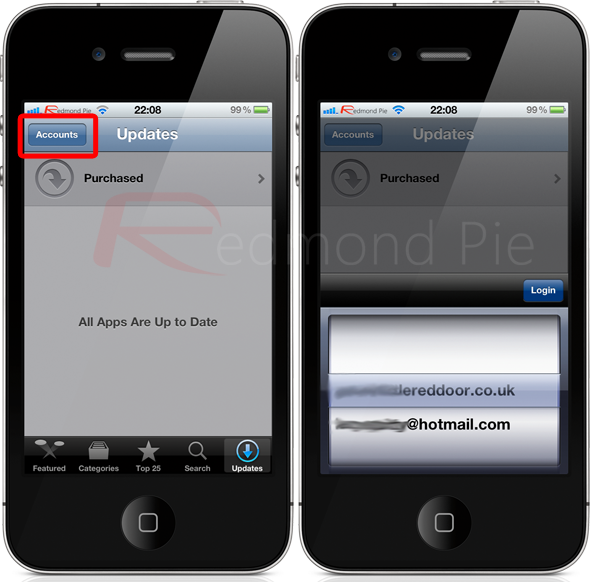 multiple apple ids on iphone how to quickly switch between apple ids itunes 1700