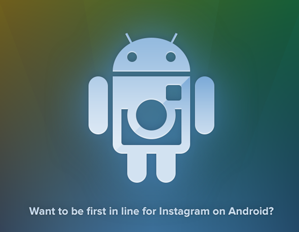 Instagram for Android signup