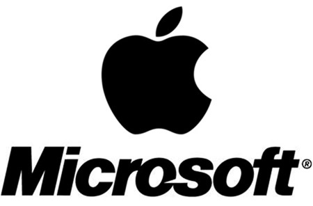 MS Apple logo