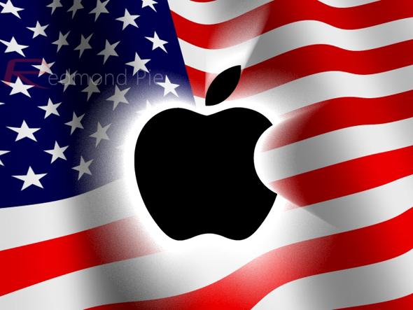 US Flag Apple