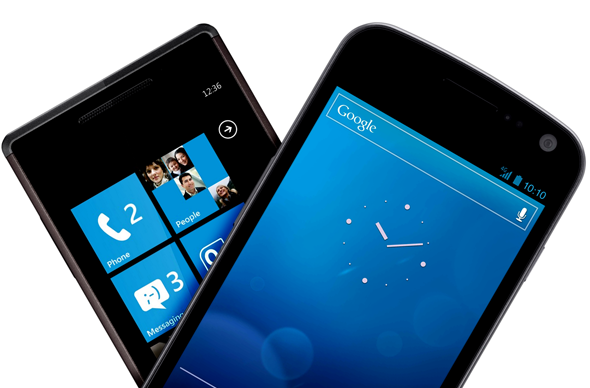 Windows Phone Galaxy Nexus