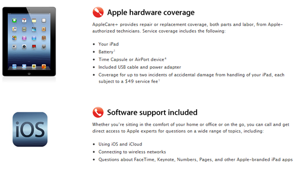 iPad AppleCare