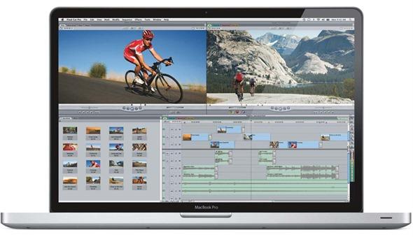17 Inch MacBook Pro front