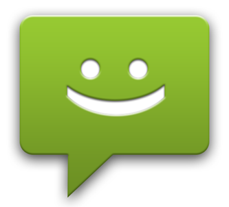 Android messaging logo