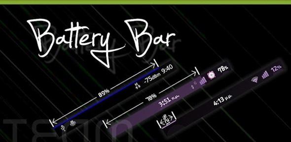 BatteryBar splash
