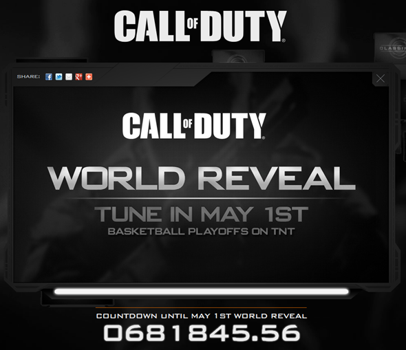 Call of duty 1st may